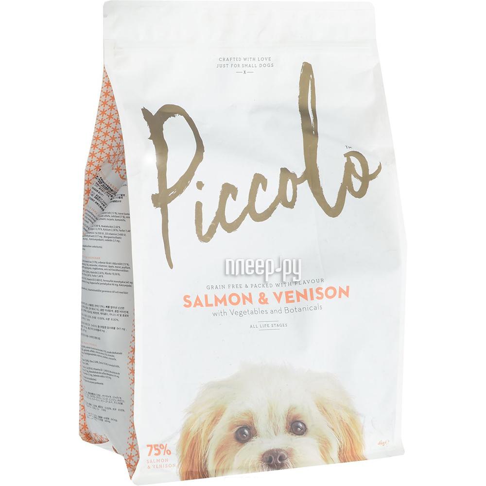 Корм Piccolo GF Лосось с олениной 4kg для собак мелкой породы PSV4 100.306