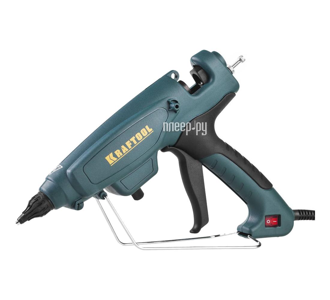 Термоклеевой пистолет Kraftool 06843-300-12 купить