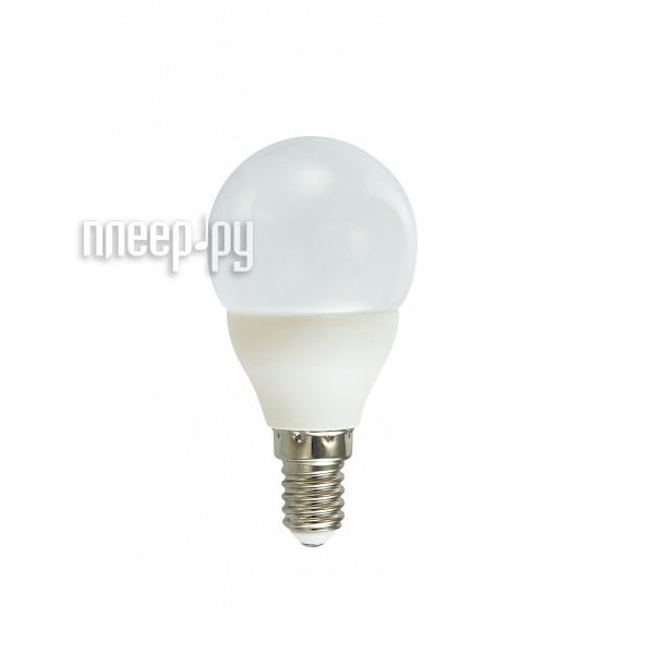 Лампочка Красная цена Шарик P45 E14 5.5W 3000K 430Lm Warm White