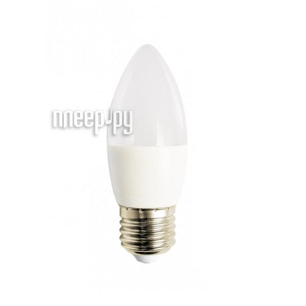 Лампочка Красная цена Свеча B35 E27 7W 4000K 590Lm Cold White