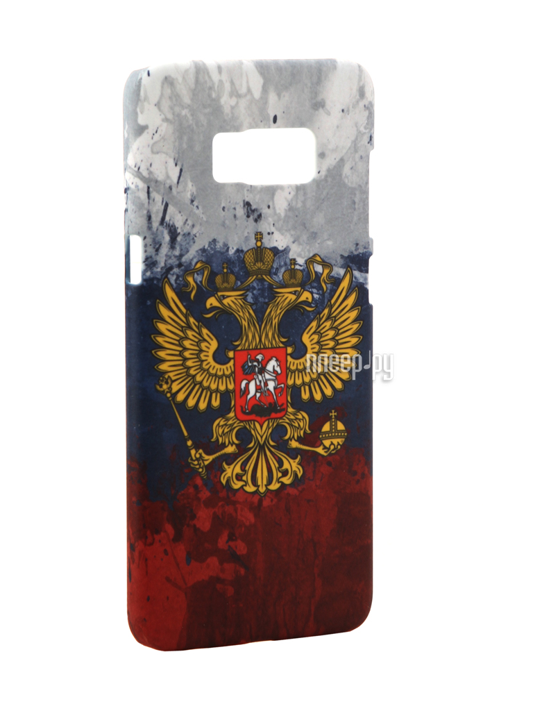 Аксессуар Чехол Samsung Galaxy S8 Plus With Love. Moscow Coat of arms of Russia 7090