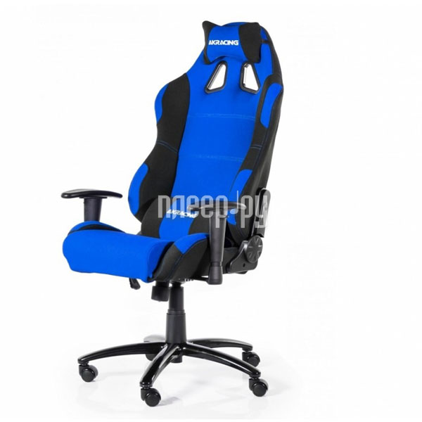 Компьютерное кресло AKRacing Prime Black-Blue AK-K7018-BL