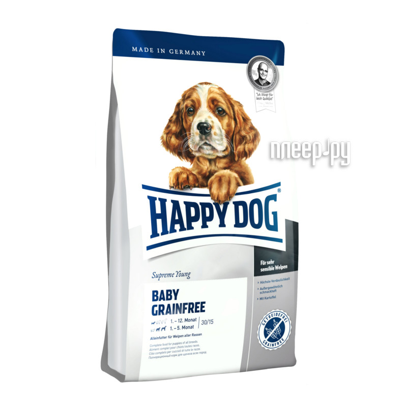 Корм Happy Dog Baby Granefree - 1kg 03431 для щенков
