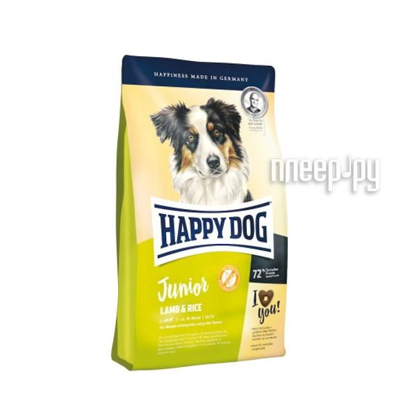 Корм Happy Dog Junior Ягненок / Рис - 4kg 60412 для щенков