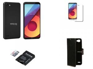 Купить Сотовый телефон LG M700 Q6a Black-Black Выгодный набор + подарок серт. 200Р!!