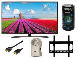 Купить Телевизор LG 43LJ595V Black Выгодный набор + подарок серт. 200Р!!