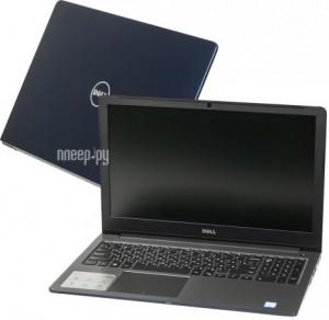 Купить Ноутбук Dell Vostro 5568 5568-3587 (Intel Core i5-7200U 2.5 GHz/8192Mb/256Gb SSD/nVidia GeForce 940MX 4096Mb/Wi-Fi/Bluetooth/Cam/15.6/1920x1080/Windows 10 64-bit)