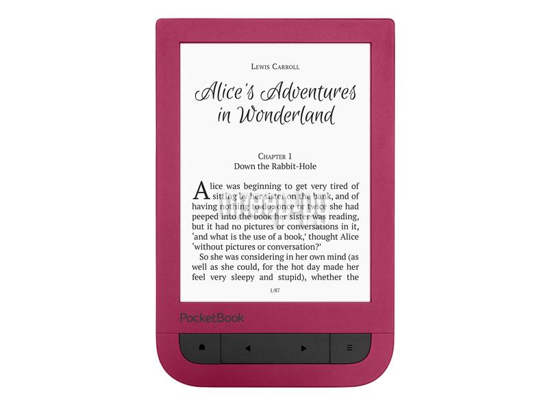 Электронная книга PocketBook 631 Touch HD Ruby Red PB631-R-RU