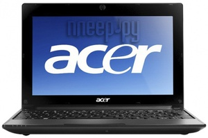 Ноутбук Acer Aspire One AO522-C68kk Black LU.SES08.055 (AMD Athlon C-60 1 Ghz/2048Mb/320Gb/noDVD/AMD Radeon HD6250/Wi-Fi/Bluetooth/Cam/10.1/1280x720/Win 7 Starter)