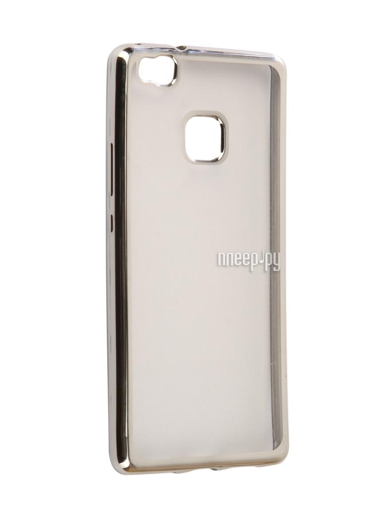 Аксессуар Чехол Huawei P9 Lite Svekla Flash Silicone Silver Frame SVF-HWP9LITE-SIL