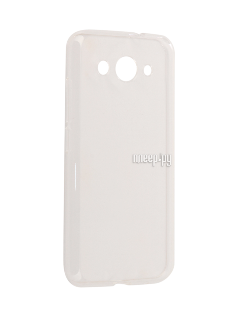 Аксессуар Чехол Huawei Y3 2017 Zibelino Ultra Thin Case White ZUTC-HUA-Y3-2017-WHT