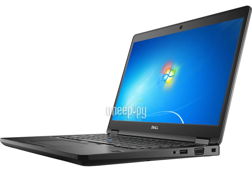 Ноутбук Dell Latitude 5480 5480-7812 (Intel Core i5-6200U 2.3 GHz / 4096Mb / 500Gb / No ODD / Intel HD Graphics / Wi-Fi / Cam / 14.0 / 1366x768 / Windows 7 64-bit)