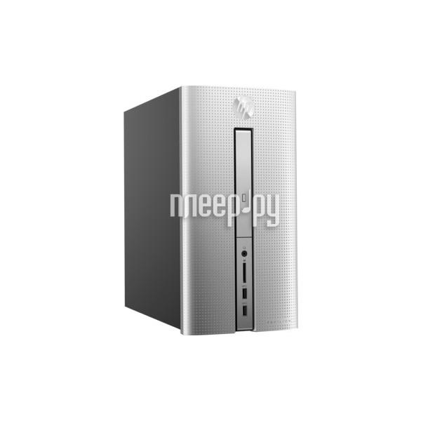 Настольный компьютер HP Pavilion 570-p006ur 1ZP82EA (Intel Core i3-7100 3.9 GHz/4096Mb/1000Gb/DVD-RW/Intel HD Graphics/Wi-Fi/Bluetooth/Windows 10 64-bit)