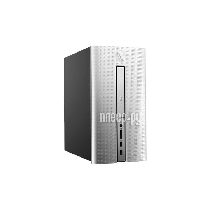 Настольный компьютер HP Pavilion 570-p008ur 1ZP84EA (Intel Core i5-7400 3.0 GHz/4096Mb/1000Gb/DVD-RW/Intel HD Graphics/Wi-Fi/Bluetooth/Windows 10 64-bit)