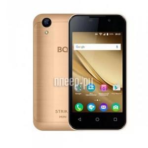 Купить Сотовый телефон BQ 4072 Strike Mini Gold Brushed -1