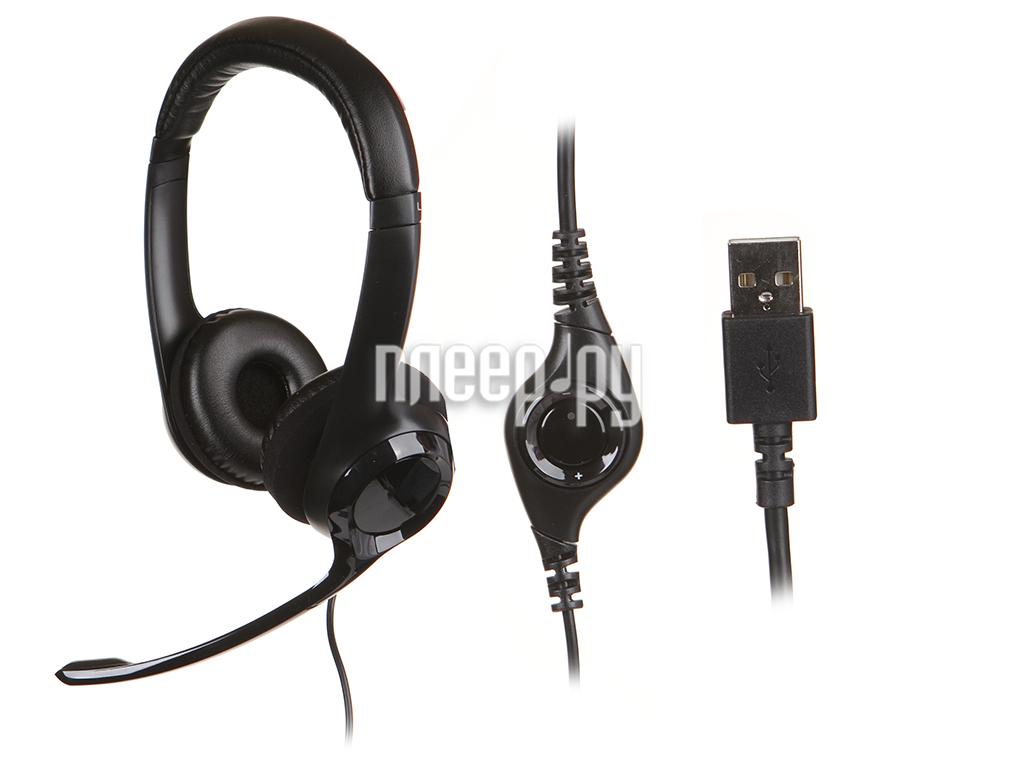 Гарнитура Logitech H390 USB 981-000406  Pleer.ru  1285.000