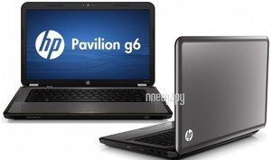 Ноутбук HP Pavilion g6-1261er A5G90EA (Intel Core i3-2330M 2.2 Ghz/4096Mb/320Gb/DVD-RW/ATI Radeon HD6470 1024Mb/Wi-Fi/Bluetooth/Cam/15.6/1366x768/DOS)