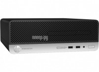 Настольный компьютер HP ProDesk 400 G4 Small Form Factor 1JJ59EA (Intel Core i5-7500 3.4 GHz/4096Mb/128Gb SSD/DVD-RW/Intel HD Graphics 630/GbitEth/Windows 10 Professional 64-bit)
