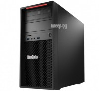 Настольный компьютер Lenovo ThinkStation P320 MT 30BH0002RU (Intel Core i5-7500 3.4 GHz/8192Mb/1000Gb/DVD-RW/CR/Intel HD Graphics 630/GbitEth/Windows 10 Professional 64-bit)