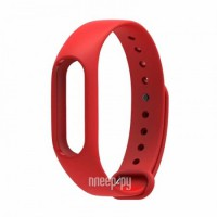 Aксессуар Ремешок Red Line for Xiaomi Mi Band 2 Silicone Red УТ000013461