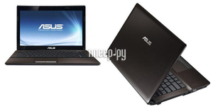 ������� ASUS K43SJ 90N3VL1E4W2B13RD13AU (Intel Pentium B950 2.1 Ghz/3072Mb/320Gb/DVD-RW/nVidia GeForce GT 520M 1024Mb/Wi-Fi/Bluetooth/Cam/14.0/1366x768/Win 7 Home Basic 64bit)
