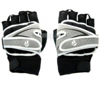 Перчатки для фитнеса Mad Wave Weighter Gloves S Black-Grey M1391 11 4 17W