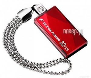 Купить USB Flash Drive 32Gb - Silicon Power Touch 810 Red SP032GBUF2810V1R