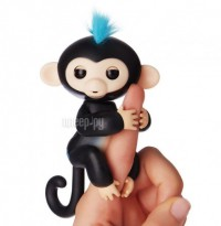 Игрушка WowWee Fingerlings Обезьянка Финн Black
