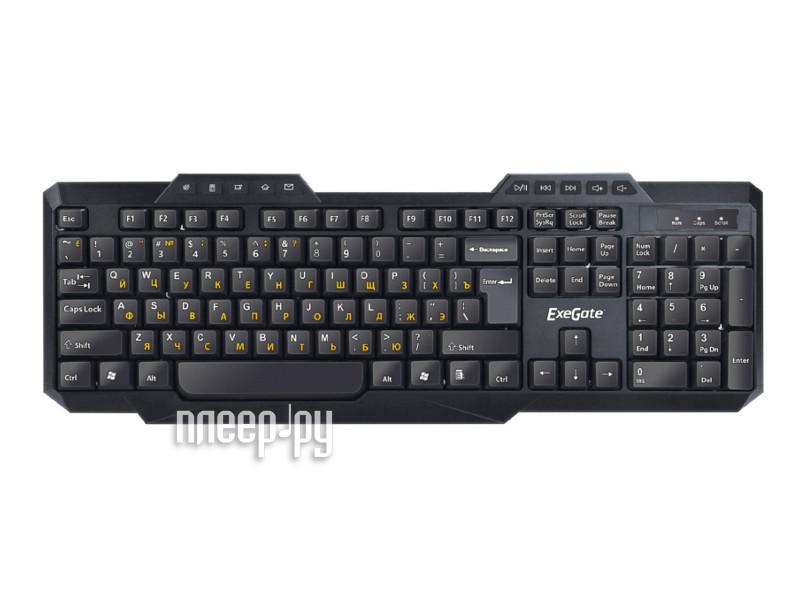 Клавиатура ExeGate LY-503M Black USB