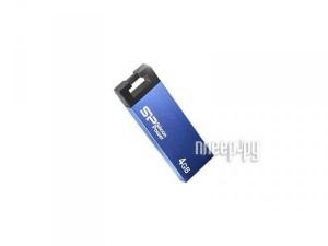 Купить USB Flash Drive 4Gb - Silicon Power Touch 835 Blue SP004GBUF2835V1B