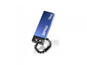 Купить USB Flash Drive 16Gb - Silicon Power Touch 835 Blue SP016GBUF2835V1B