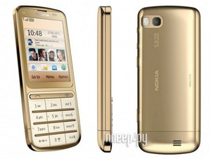 ������� ������� Nokia C3-01.5 Gold Edition