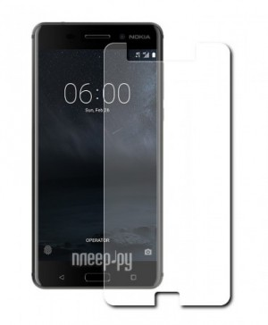 Аксессуар Защитное стекло Nokia 6 Red Line Tempered Glass