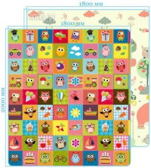 Развивающий коврик Mambobaby Мир животных + Совята 023ТМ - купить со ... 6a4c48b503fb4