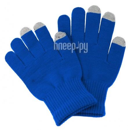Теплые перчатки для сенсорных дисплеев iGlover Classic Light Blue