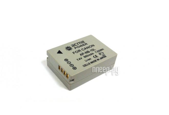Аккумулятор AcmePower NB-10L  Pleer.ru  1600.000