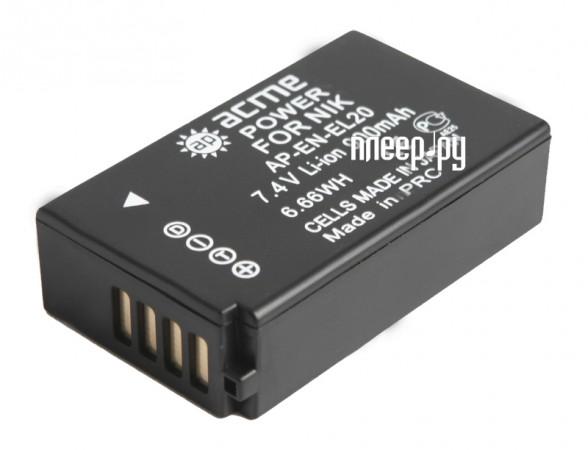 Аккумулятор AcmePower EN-EL20  Pleer.ru  868.000