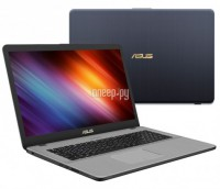 Ноутбук ASUS N705UD-GC073 90NB0GA1-M02090 (Intel Core i5-8250U 1.6 GHz/8192Mb/1000Gb/No ODD/nVidia GeForce GTX 1050 2048Mb/Wi-Fi/Bluetooth/Cam/17.3/1920x1080/Endless)