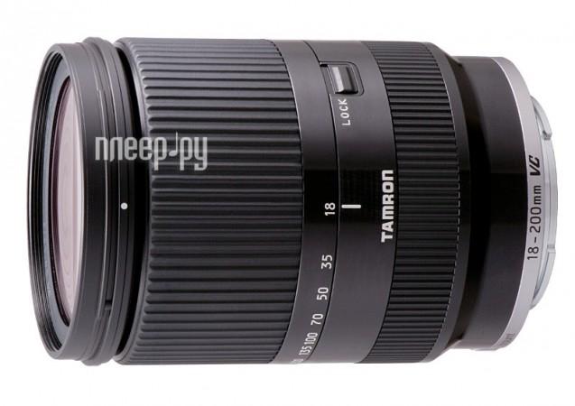 Объектив Tamron Sony AF 18-200 mm F/3.5-6.3 Di III VC for NEX Black  Pleer.ru  21453.000