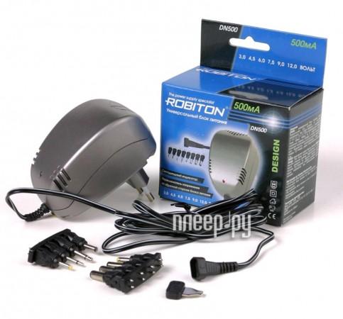 Зарядное устройство Robiton DN500 Design - универсальный блок питания
