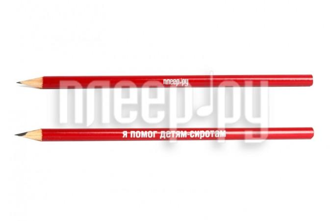 Благое дело Карандаш =ВМЕСТЕ ПОМОЖЕМ ДЕТИШКАМ= Bordo-Silver/Black  Pleer.ru  157.000