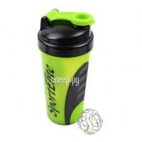 Шейкер Sport Elite SH-110 600ml Light Green-Black