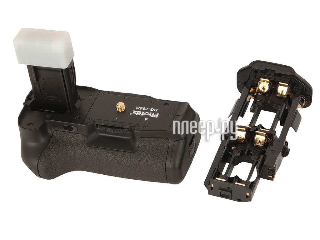 Батарейный блок Phottix BG-550D/600D/650D/700D - питающая рукоятка 33485  Pleer.ru  2849.000