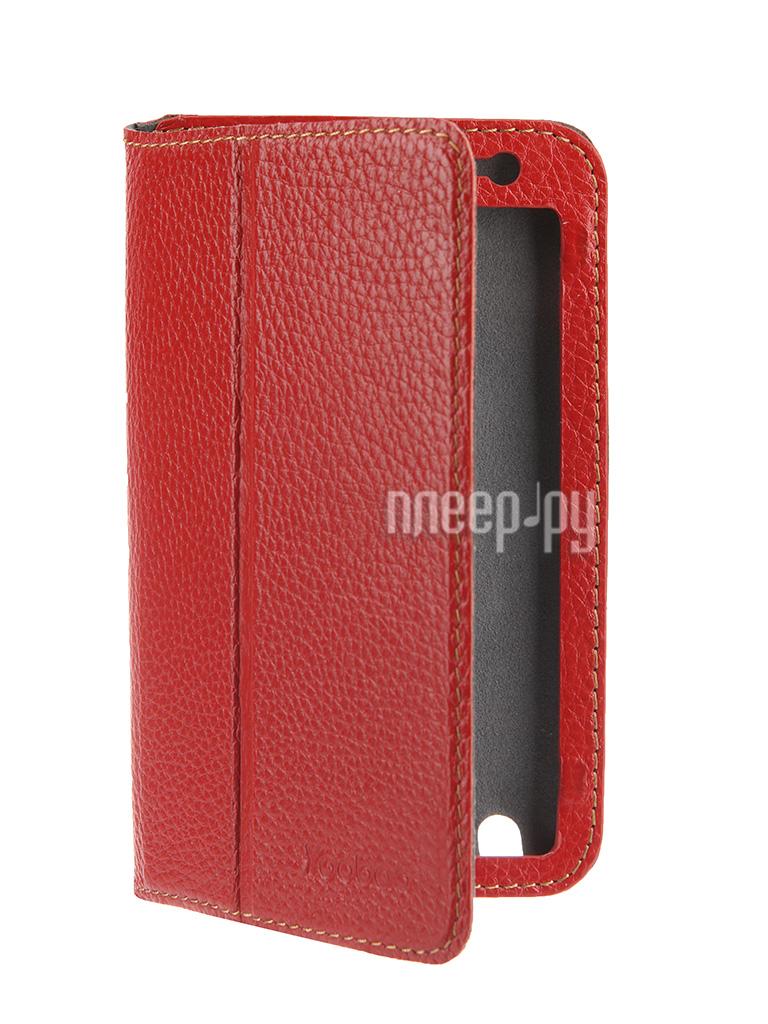 Аксессуар Чехол Samsung GT-i9220 Galaxy Note Yoobao Executive Red  Pleer.ru  899.000