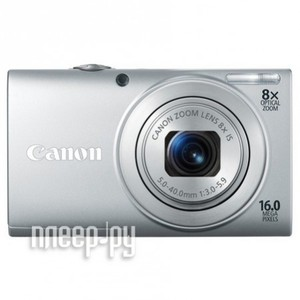 ����������� Canon A4000 IS PowerShot Silver (2 ���� �������� �� Canon)