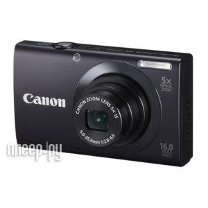 ����������� Canon A3400 IS PowerShot Black (2 ���� �������� �� Canon)