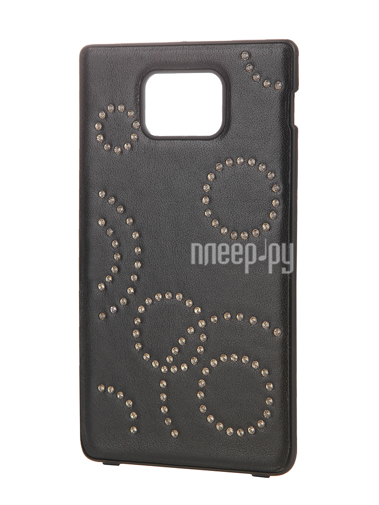 Аксессуар Чехол Samsung GT-i9105 Galaxy S II Plus / GT-i9100 Galaxy S II Anymode Swarovski Crystal Cover ACS-L954A3  Pleer.ru  1900.000