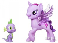 Игрушка Hasbro My Little Pony Поющая Твайлайт Спаркл и Спайк C0718