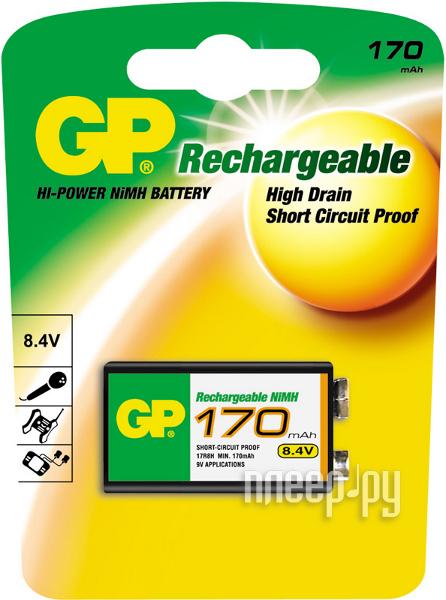 Аккумулятор КРОНА GP 17R8H-BC1 170 mAh Ni-MH  Pleer.ru  399.000