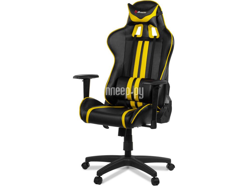 Компьютерное кресло Arozzi Mezzo Yellow
